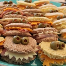monster sandwiches lots